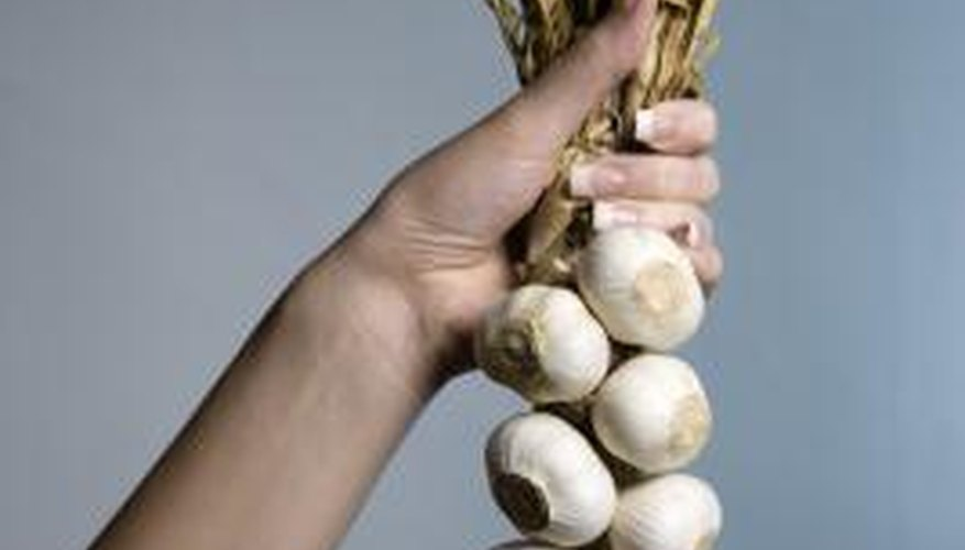 Garlic smell in cupboards can be overwhelming.