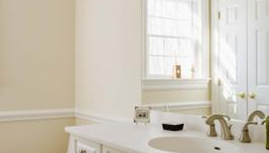 Mechanical bathroom vents are required by the building codes in most municipalities.