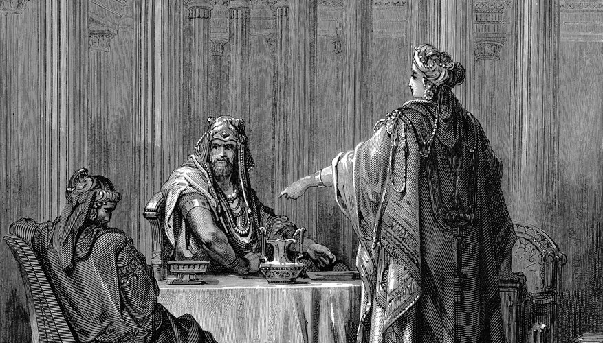 Esther prevented the genocide of Jewish people in Persia.