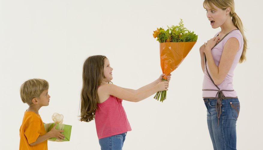 Teach children that giving can be just as rewarding as receiving.