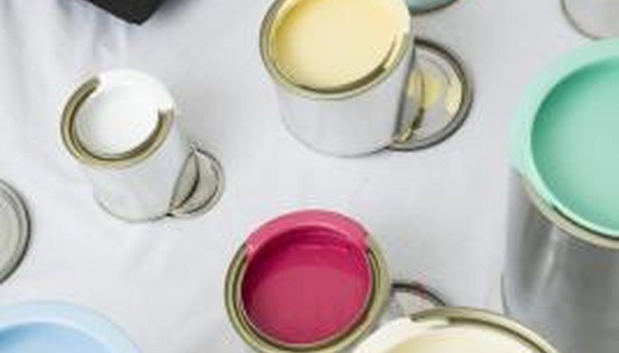 Choose your painting tools carefully to stretch your paint further.