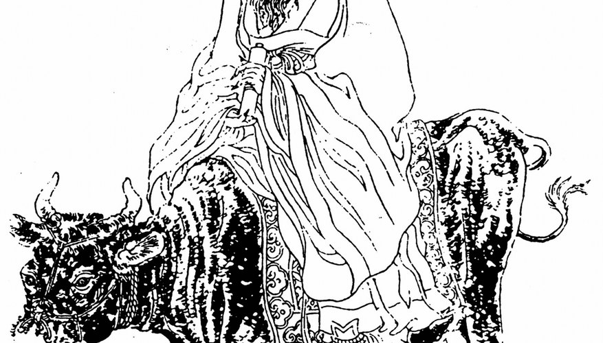 Lao Tzu, the patriarch of Taosim, reportedly lived around the same time as Buddha.