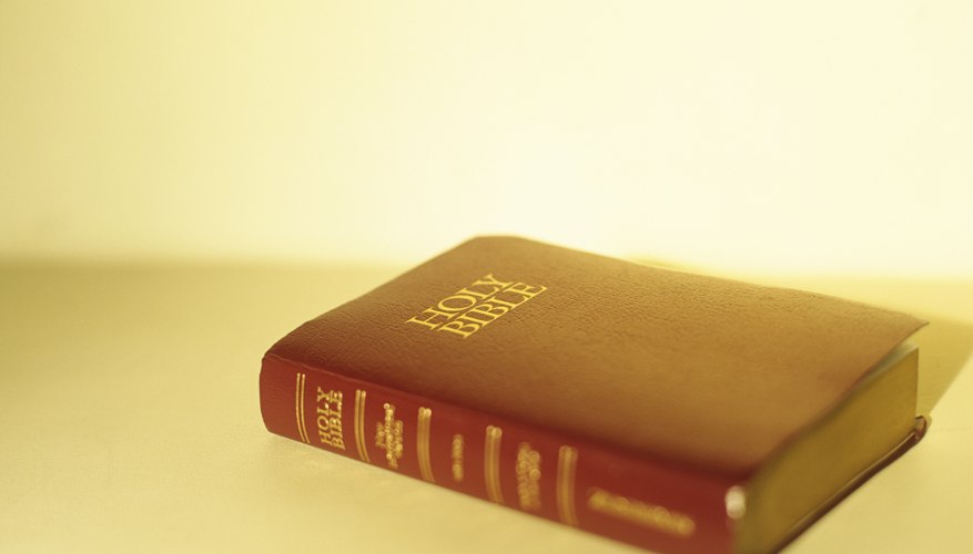 The Bible is the Christian holy book that missionaries used.