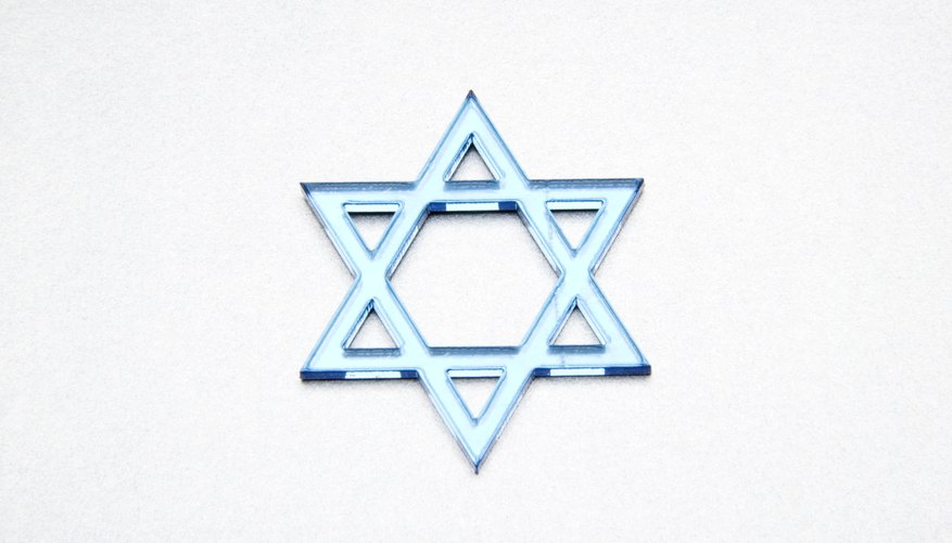 The Star of David is a widely recognized symbol of Judaism.