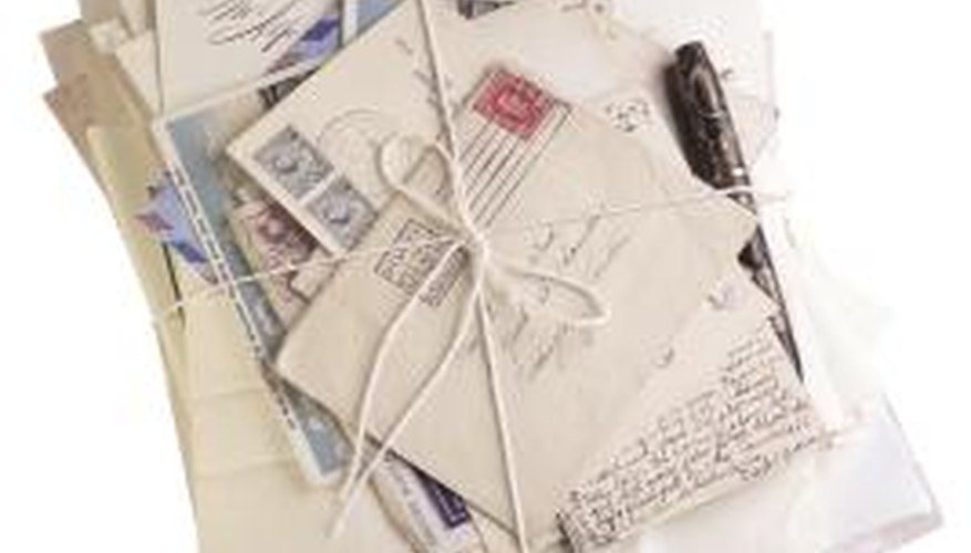 Mail isn't always returned to the sender when it's missing stamps.