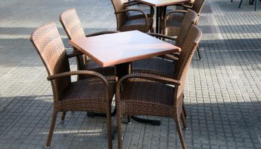 Mildew spores cause musty odours in rattan furniture.