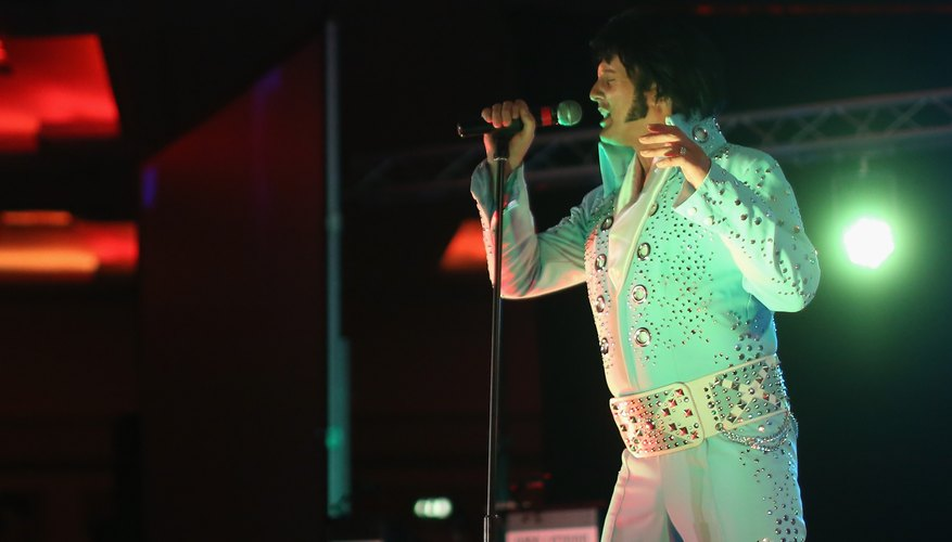 The belt is a key part of the Elvis costume.
