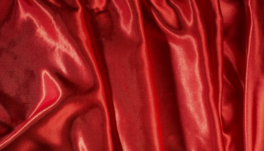 Finely woven, silky fabrics are particularly susceptible to snags.