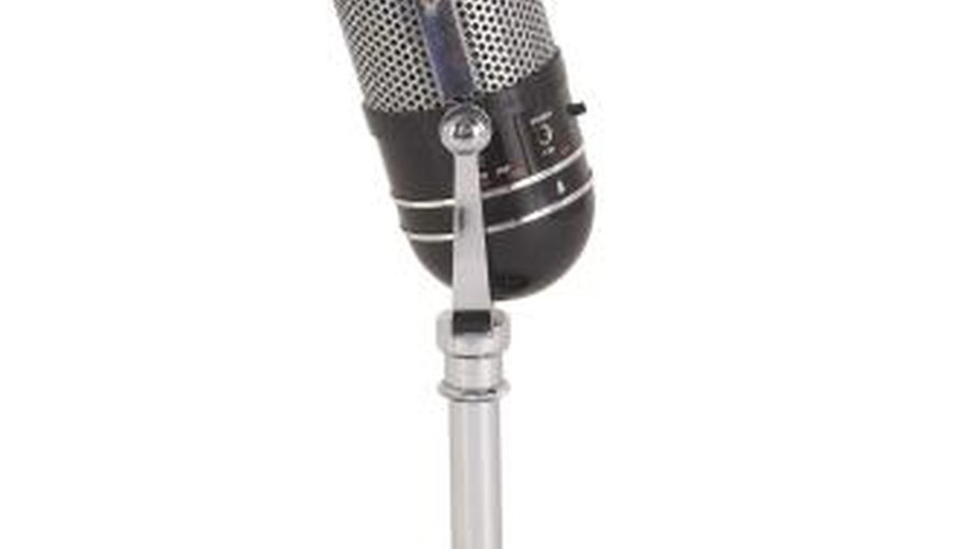 Different microphones have different pros and cons.