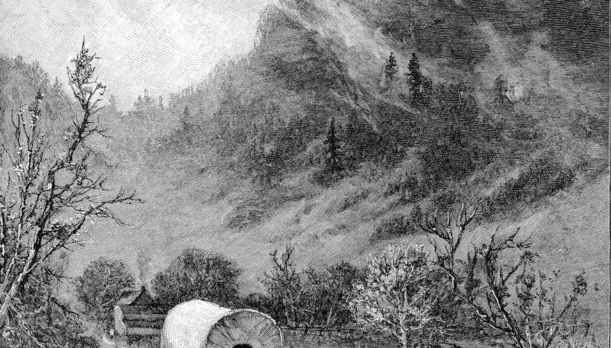 Crossing Kentucky's Cumberland Gap, pioneers made their way west.