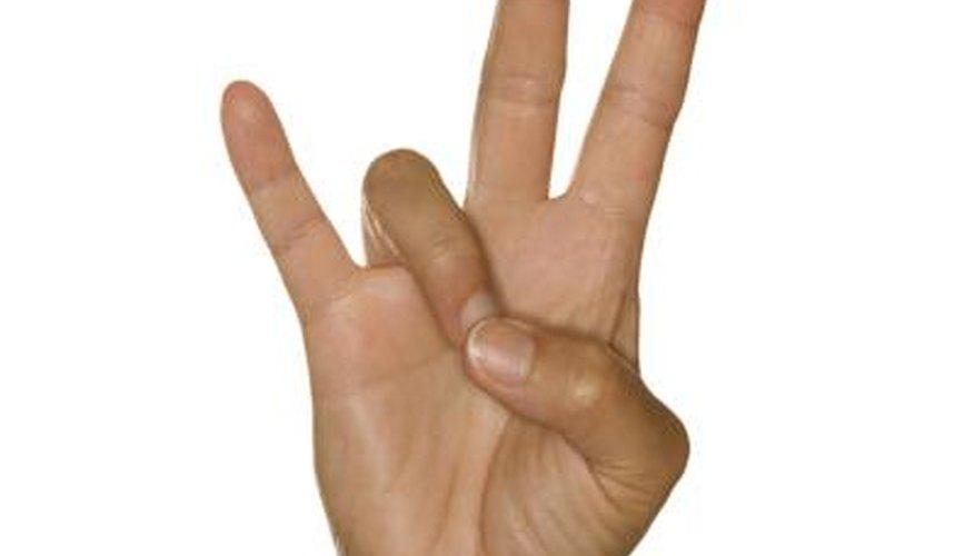 Teaching sign language can offer a deaf person a rewarding job.