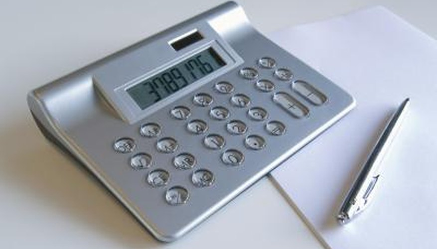 You may need a calculator to work out a fair rant increase.