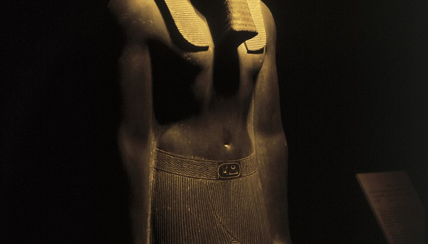 Mummification methods developed over several dynasties.