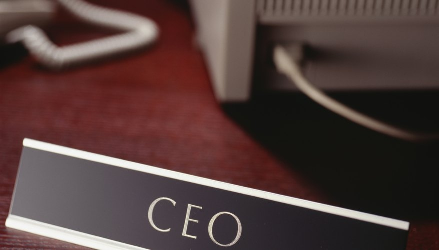 CEOs are sensitive to the