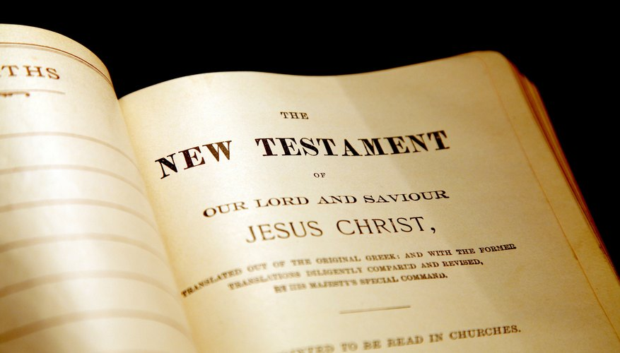 The New Testament explains practical applications of Judeo-Christian morality found in Jewish scripture.