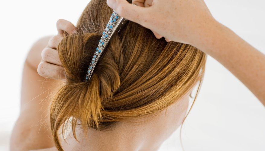 Duck bill roller clips are an ideal styling assistant.