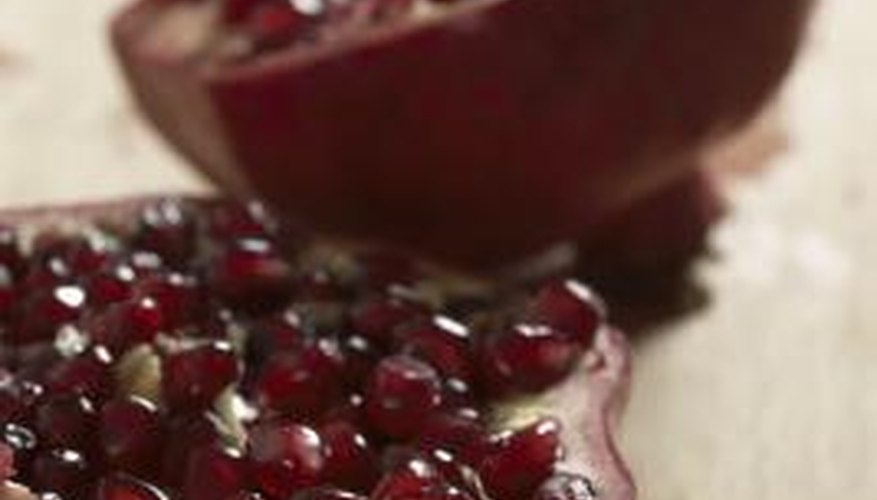 Pomegranate often turns up on lists of superfoods.
