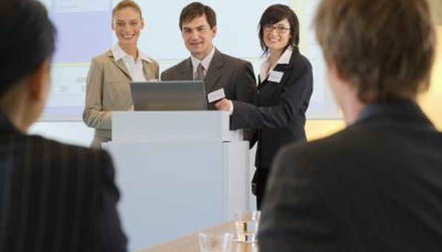 Well-crafted presentations allow for spontaneous comments and questions.