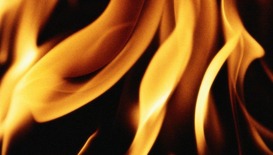 In Zoroastrianism, fire a visual symbol of God.