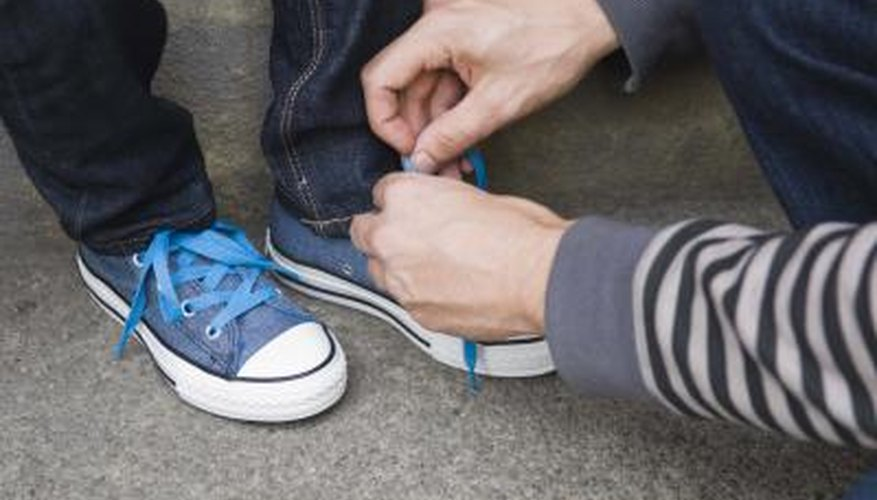 Even lacing your Converse is a statement of style.