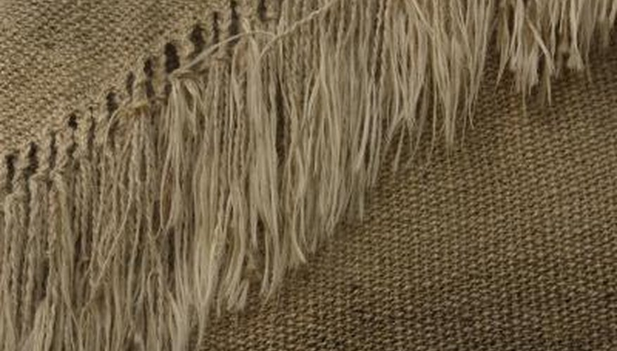 You can repair and prevent frayed fringe edges with simple techniques.