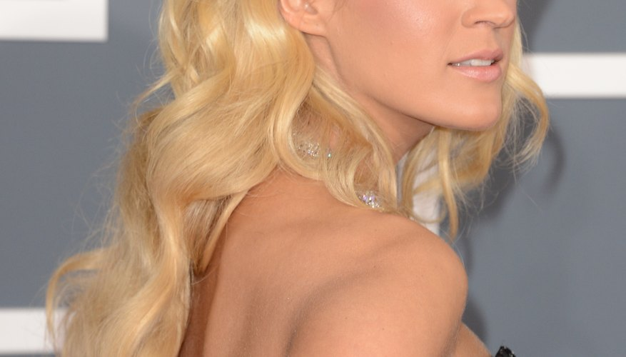 Get celeb-worthy waves like Carrie Underwood with an inexpensive hair styling product.