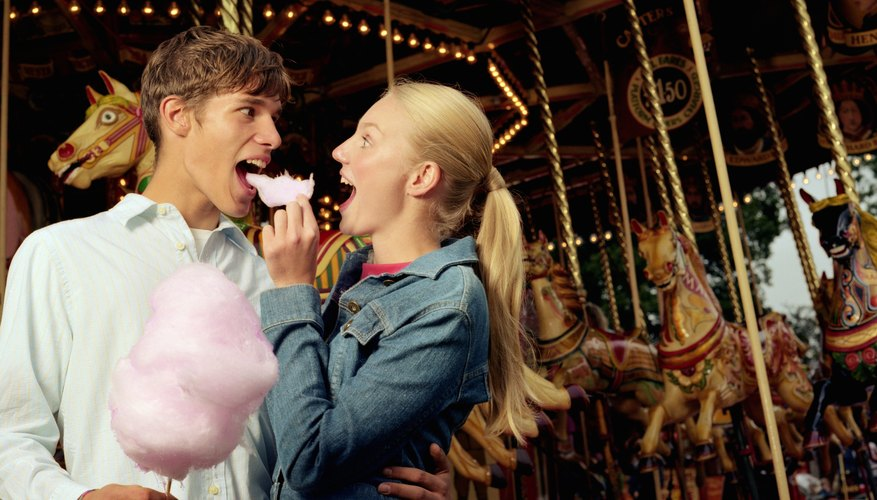 A carnival or festival can make for a creative date.