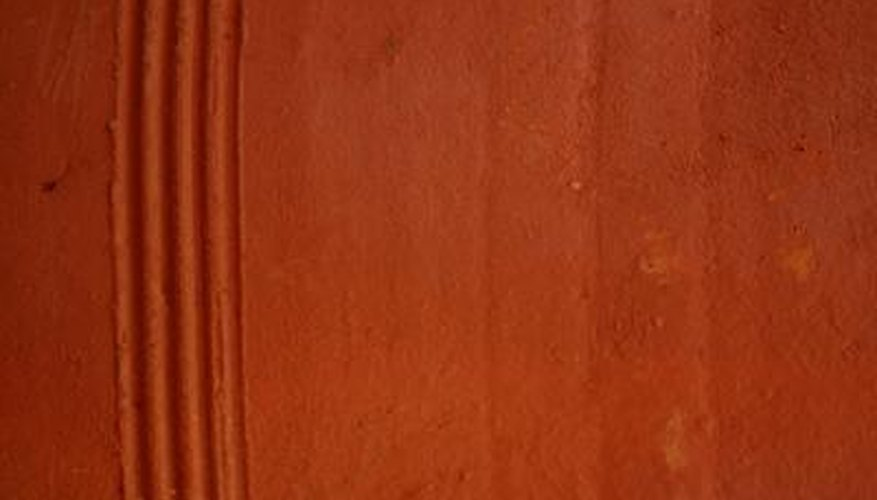 Many combinations of paint can create terracotta.