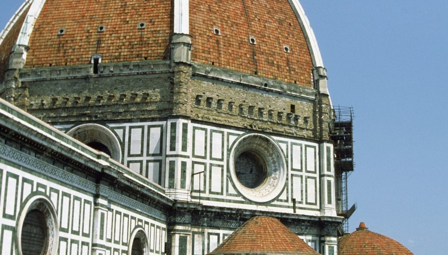 The cathedral dome in Florence was one of many Renaissance achievements.
