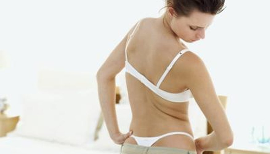 A thong can be adjusted by repositioning the back string.