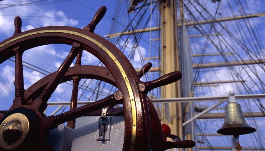 wooden trade ship