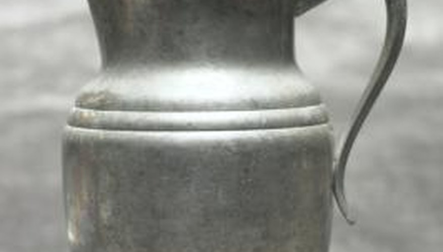 Pewter is an alloy of three elements.