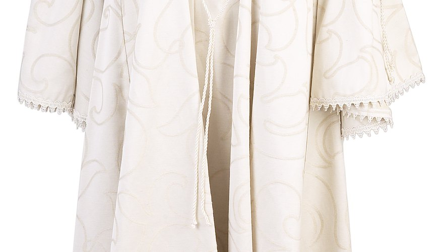 Old wedding gowns can be kept in good condition with proper storage.