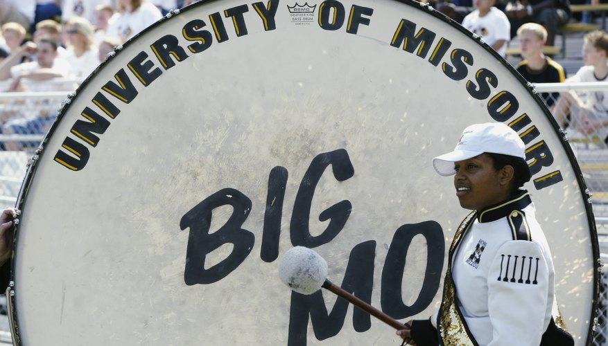 University of Missouri's drum, Big Mo