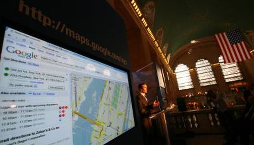 Google Maps makes its trip estimates based on speed limit information gathered by local data providers.