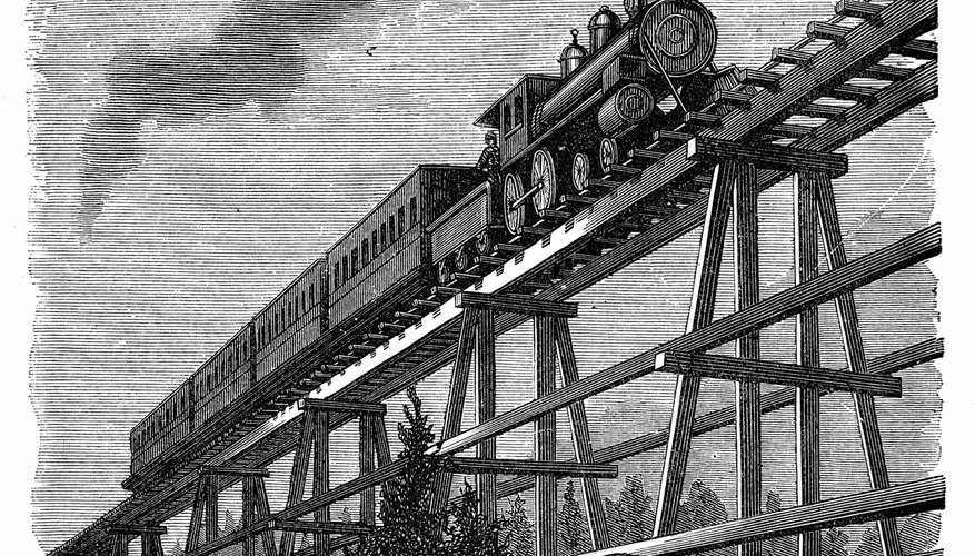 America experienced a railroad construction boom after the Civil War.