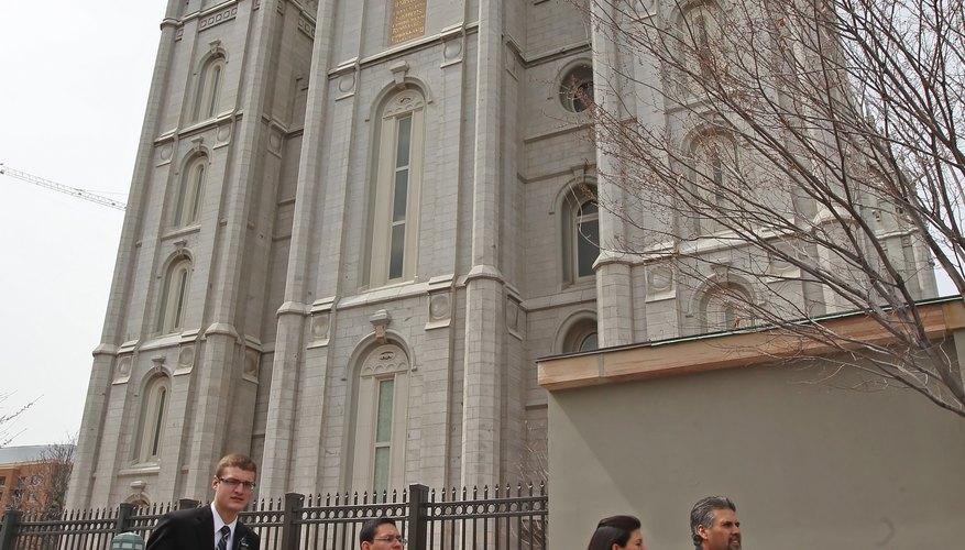 Mormons who receive disfellowship cannot enter the temple.