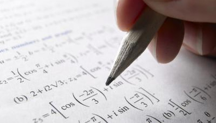 Equations use mathematical symbols that can be inserted in Word.