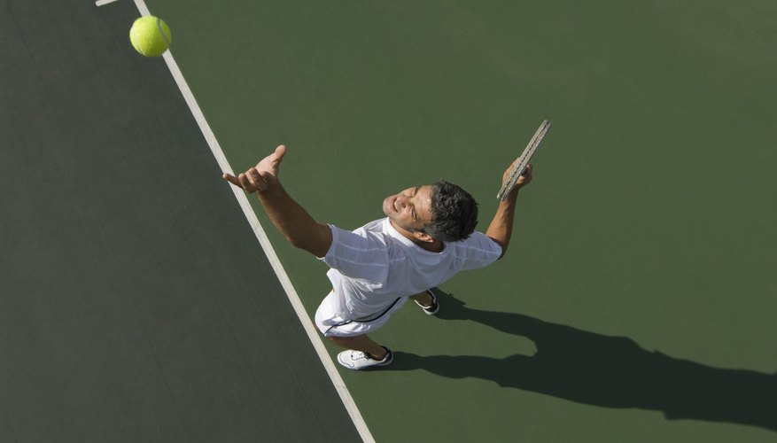 Earn a living doing what you love by becoming a semi-pro tennis player.