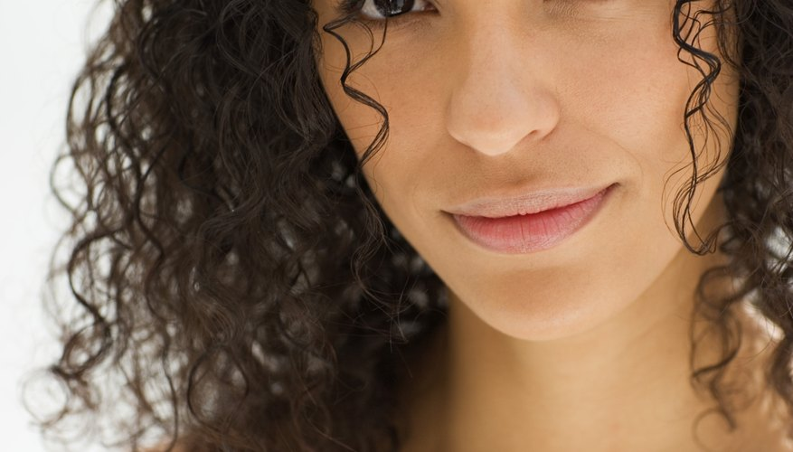 Get perfect curls by using a diffuser.
