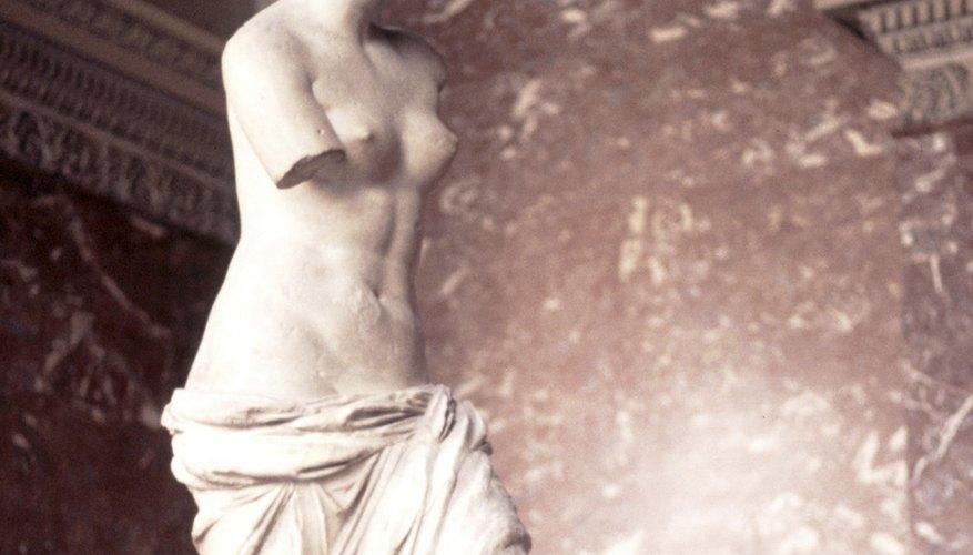 The Venus de Milo is in the Louvre Museum in Paris