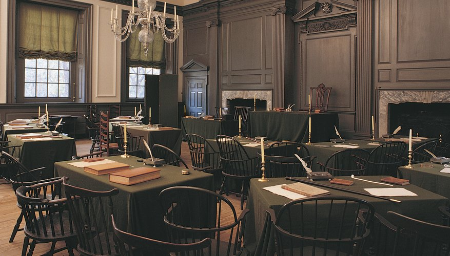 The Confederation Congress met in Philadelphia to draft and sign the Articles of Confederation.