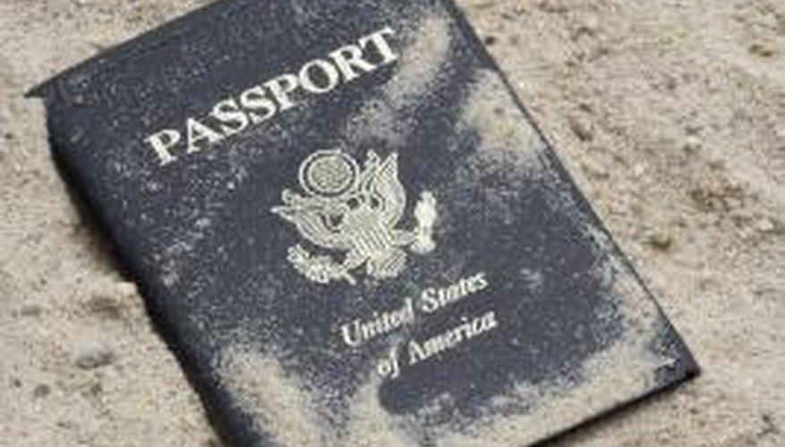 Making a passport prop is fairly straightforward.