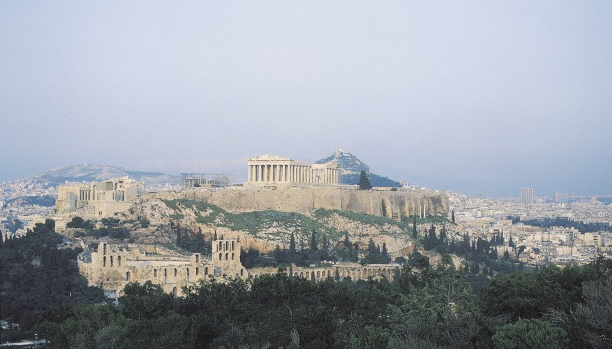 Athens' Parthenon, dedicated to the goddess Athena, is located on the Acropolis.