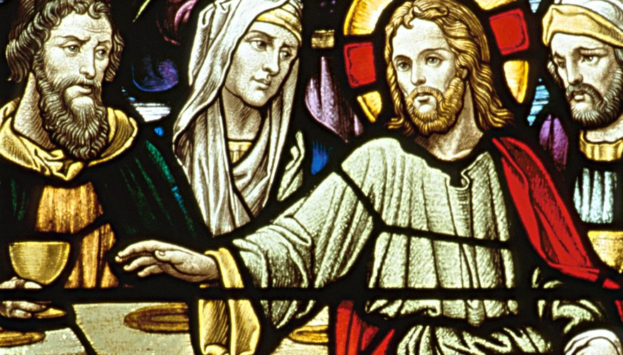 Eucharist symbolizes the Last Supper before Christ's execution.