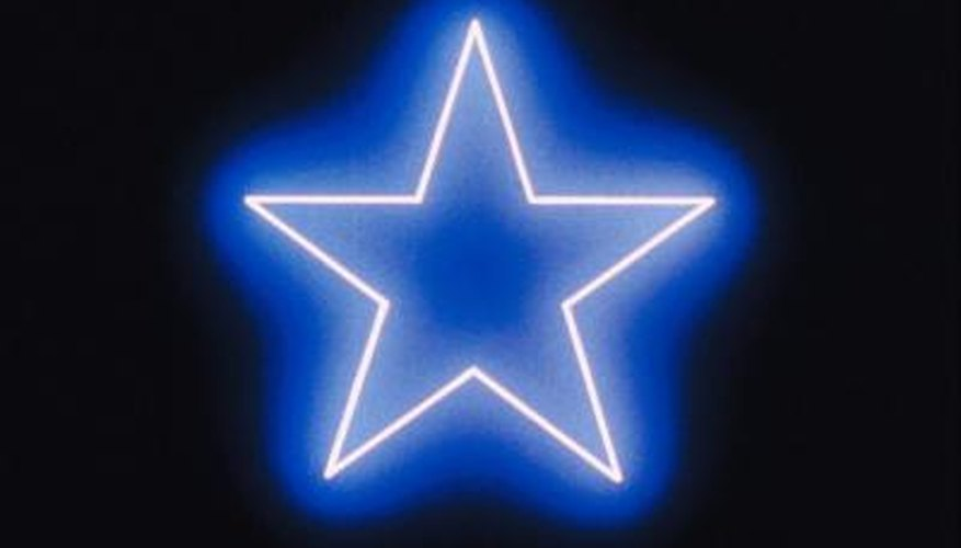 Five-sided star