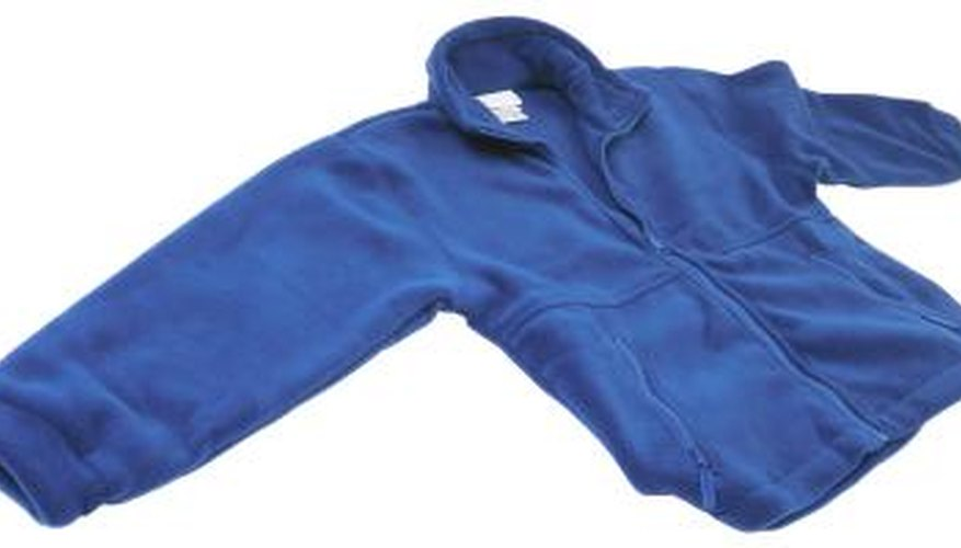 Exposing your fleece to hot water and high temperatures will shrink the fabric.