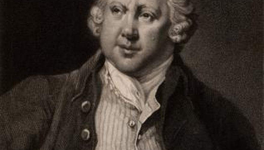 Richard Arkwright was an entrepreneur during the industrial revolution