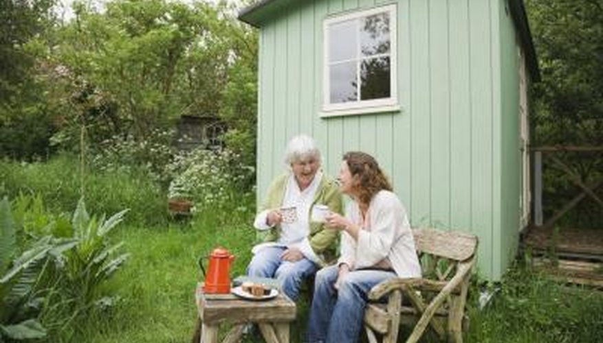 Corner trim protects your shed from harsh weather.