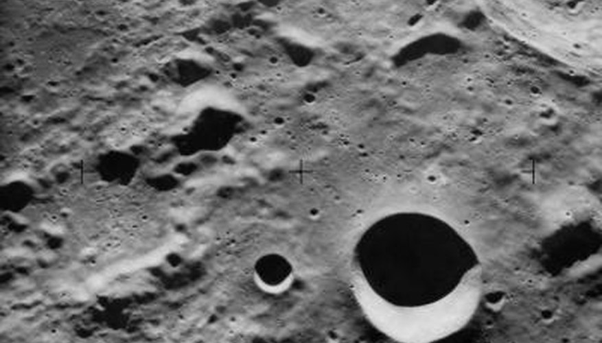 A science project on the moon's surface is the perfect choice for children interested in astronomy.